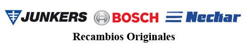 Junkers-Bosch-Neckar recambios originales